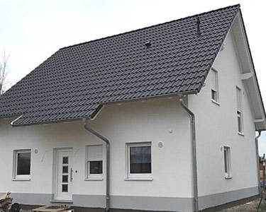 RMC Referenzen - Einfamilienhaus Aussenputz